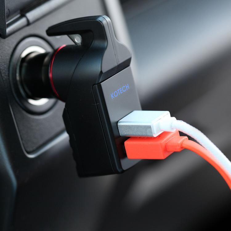 Ztylus Stinger USB Car Charger, Emergency Window Breaker, and Seat-Belt Cutter