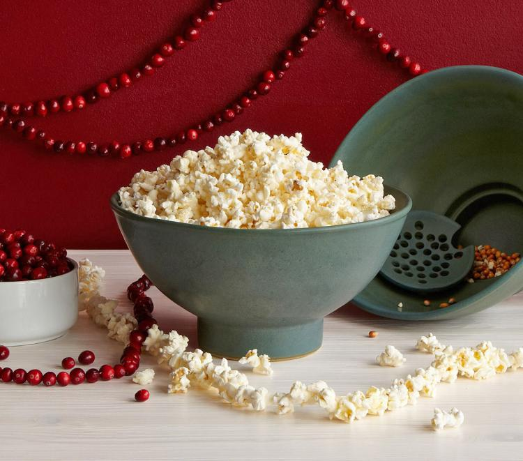 Stone Popcorn Seed Filter Bowl