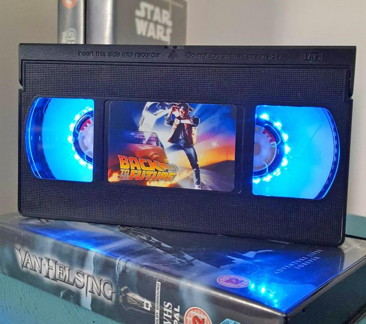 Back To The Future VHS Night-Light - Retro VHS lamp