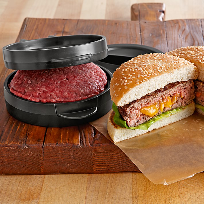 Stuffed Burger Press - Juicy Lucy Maker - Stuffed Cheese Burger Maker
