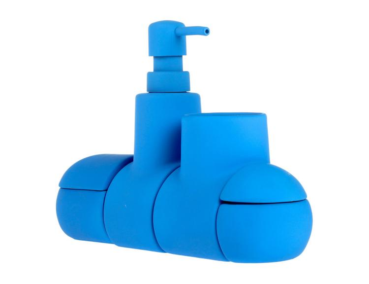 Submarine Toothbrush Holder and Bathroom Organizer