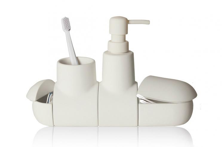Submarine Toothbrush Holder And Bathroom Set
