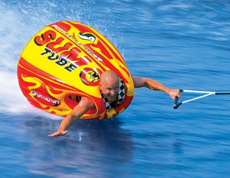 SportsStuff Inflatable Sumo Tube - Wearable tube lets you body surf and ride waves