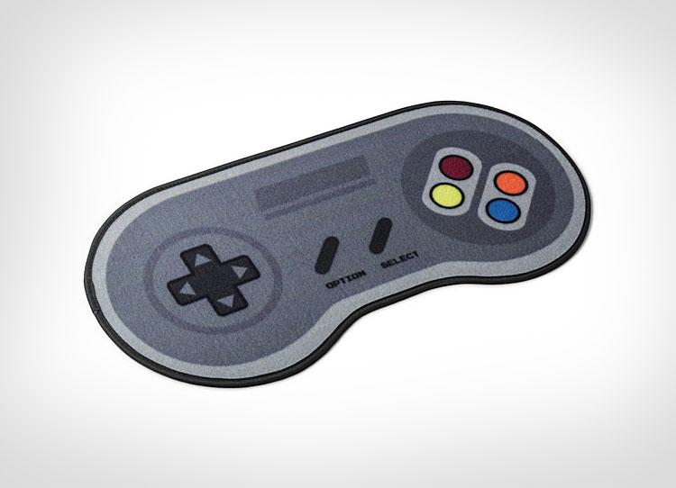 Super Nintendo Controller Door Mat