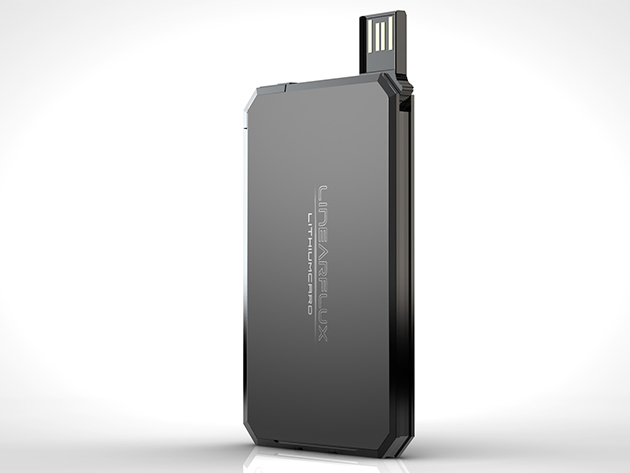 LithiumCard Wallet Battery - Portable battery fits in wallet