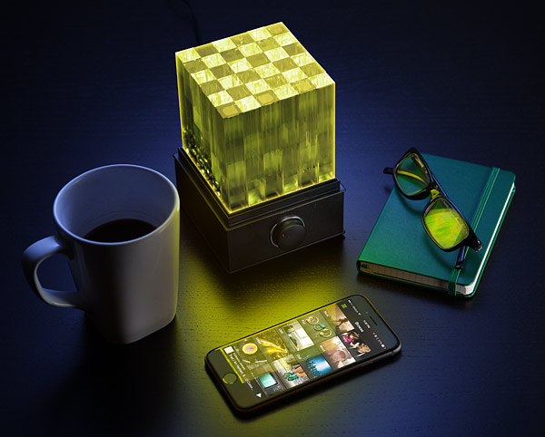 SuperNova Cube Light LED Bluetooth Speaker