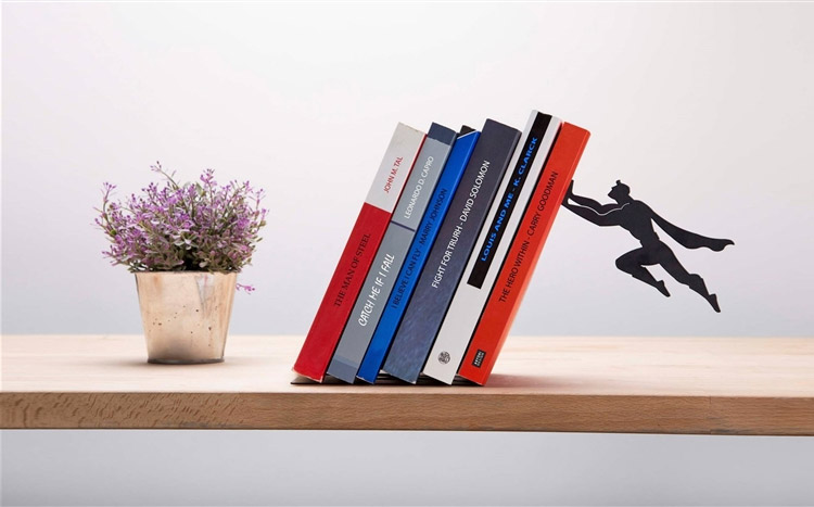 Book & Hero Superman Bookend