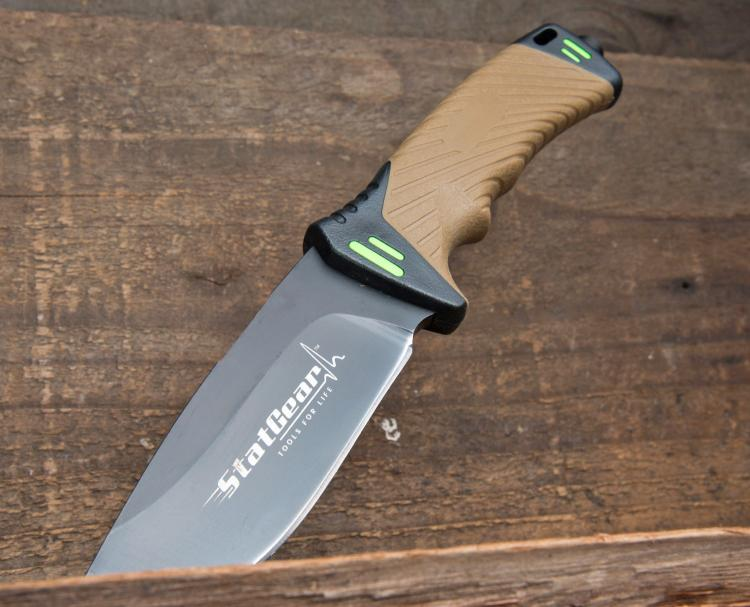Surviv-All Outdoor Knife - Survival Knife With Survival Tools in Sheath