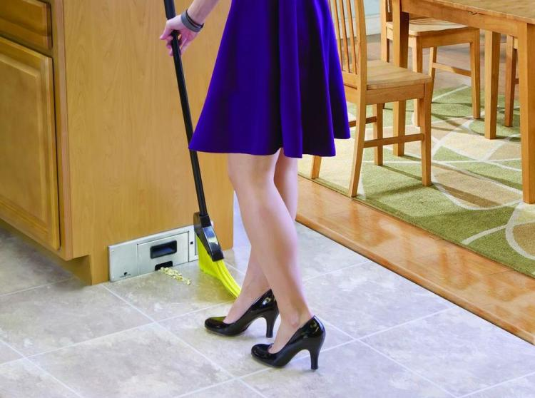 Sweepovac - In Wall Kitchen Vacuum - Eliminates Need For Dustpan