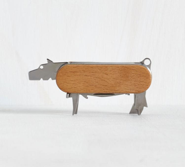 This Swiss Army Knife Unfolds To Reveal Animal Shaped Tools