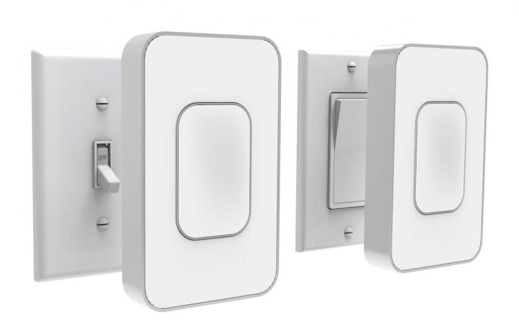 Smart Light Switch >> Switchmate Smart Light Switch Installs Over Existing Switch