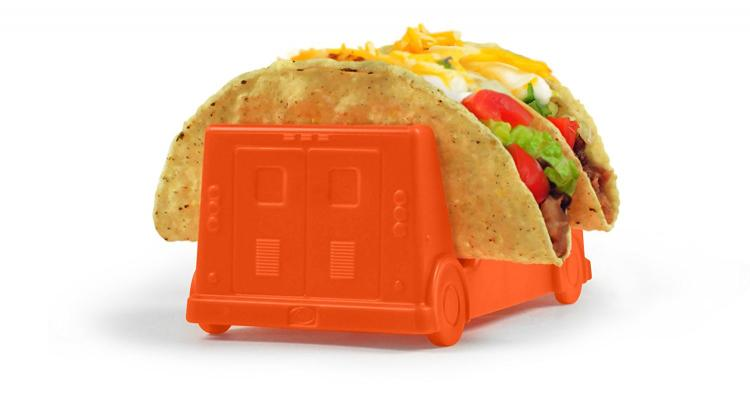 Taco Truck Taco Holder Plate - Taco Holder plate shaped like a truck