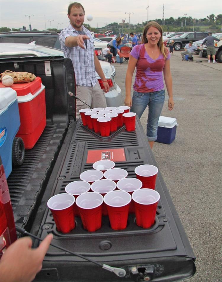 Tailgate Pong Installs Onto Your Truck S Tailgate For