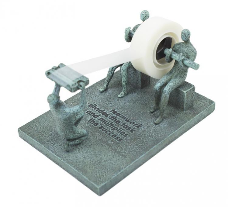 Teamwork Tape Dispenser - Inspiration Business Tape Dispenser