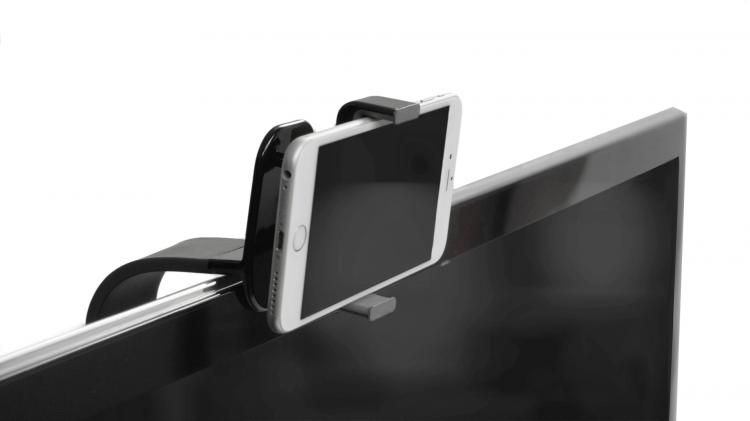 TellyMount Smart Phone Television Mount For Easy TV Video Calling