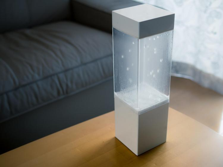 Tempescope Weather Visualizer - Box simulates real rain, clouds, fog, thunderstorms, lightning, sunshine in self contained box