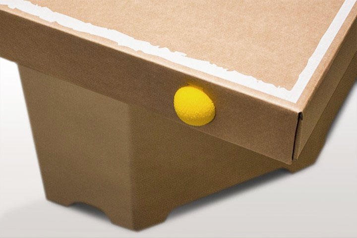 Cardboard Ping Pong Table