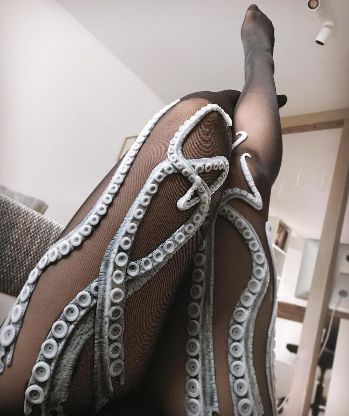 Tentacle Tights - Octopus Tights - Ursula Tights - Sea-Creature Tights