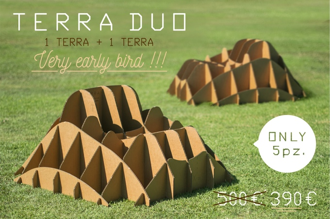 Terra! - Natural Grass Chairs Made Into Your Lawn - Grass furniture