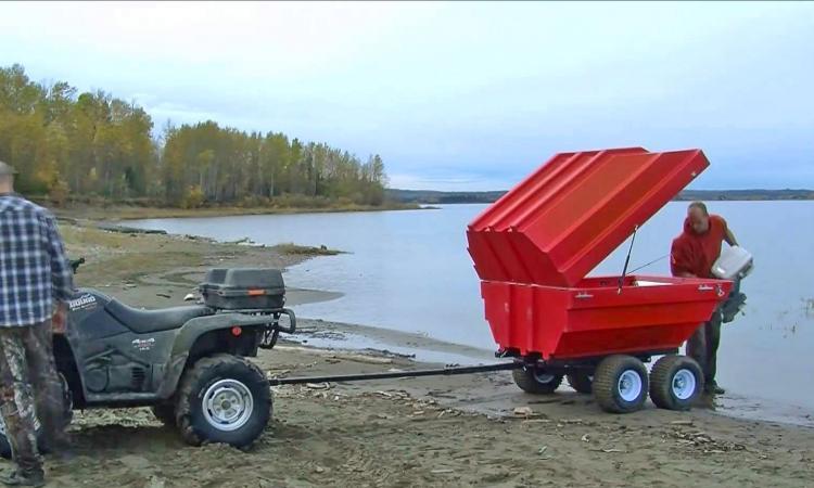 Tetrapod  A Trailer That Converts Into A Boat