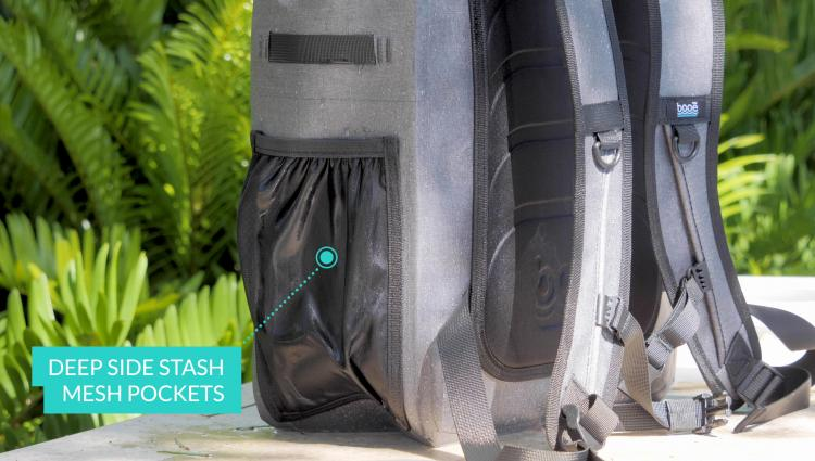 Booē Hybrid 20 Fully Waterproof Backpack - Submersible waterproof zippers floating backpack