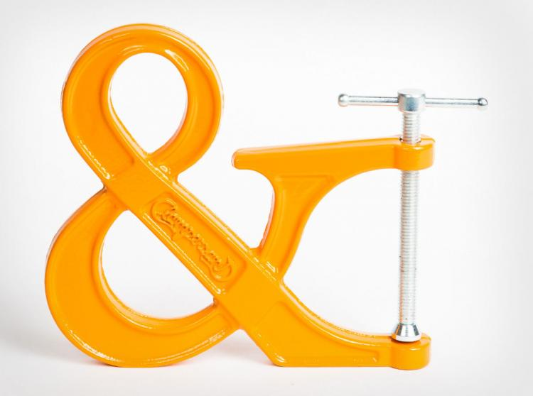 Clampersand Ampersand Clamp - Orange