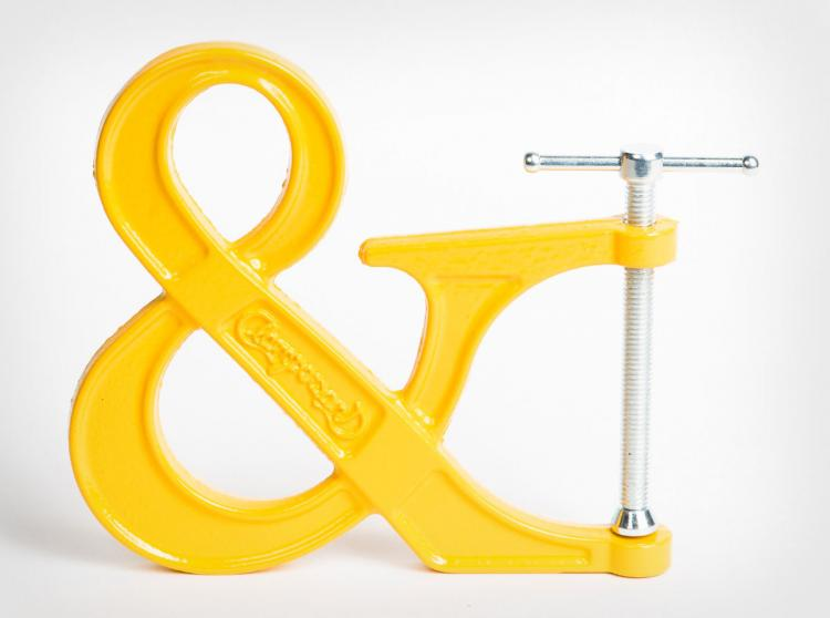 Clampersand Ampersand Clamp - Yellow