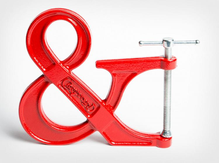 Clampersand Ampersand Clamp - Red