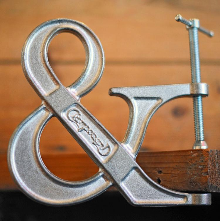 Clampersand Ampersand Clamp