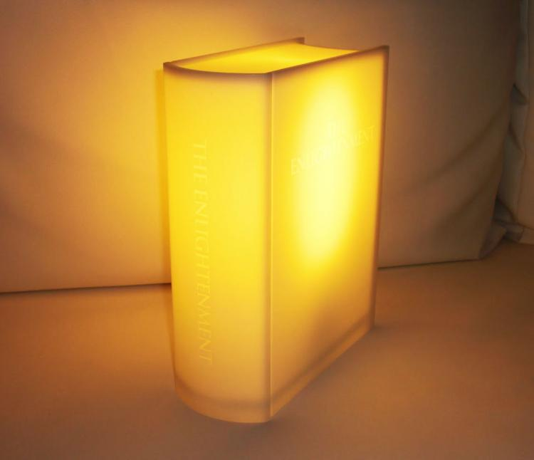 Enlightenment Lamp - Book Shaped Light
