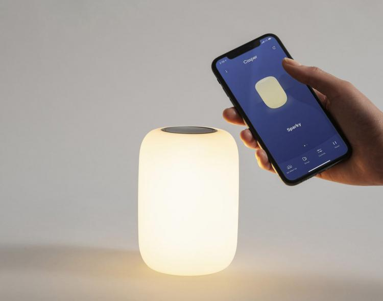 Casper Glow Light - Smart bed light helps lull you to sleep - Self-dimming smart light