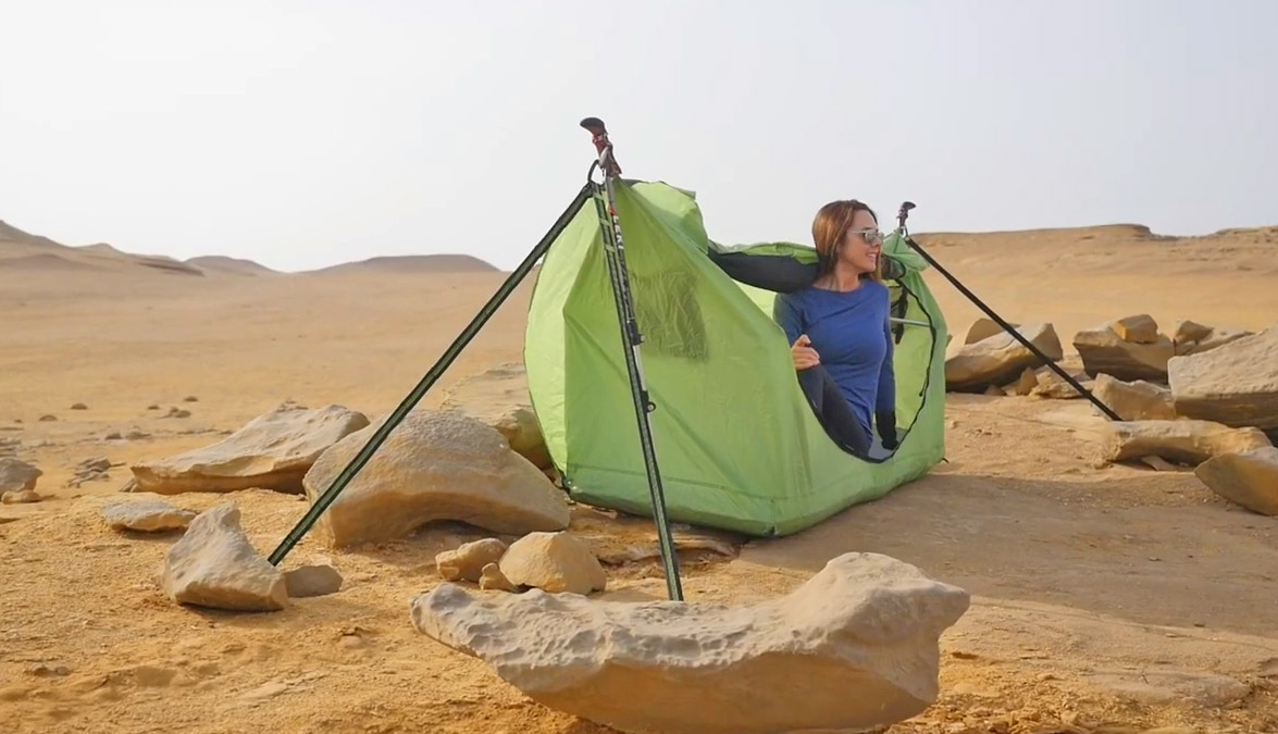 Haven Tent Lay Flat Hammock - Air mattress camping hammock lets you lay completely flat