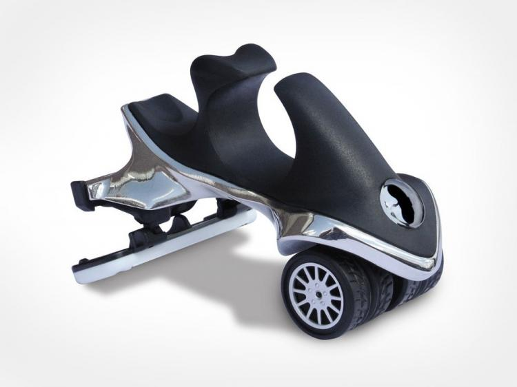 Headblade Head Razor Toy Car