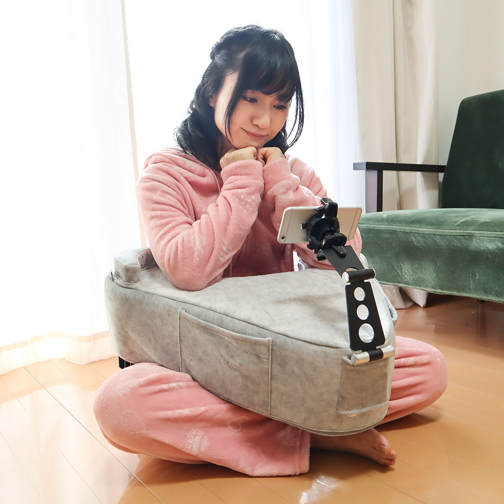 The I'm Done Adulting Cushion - Wrap around gamer pillow - Japanese A-shaped gaming cushion