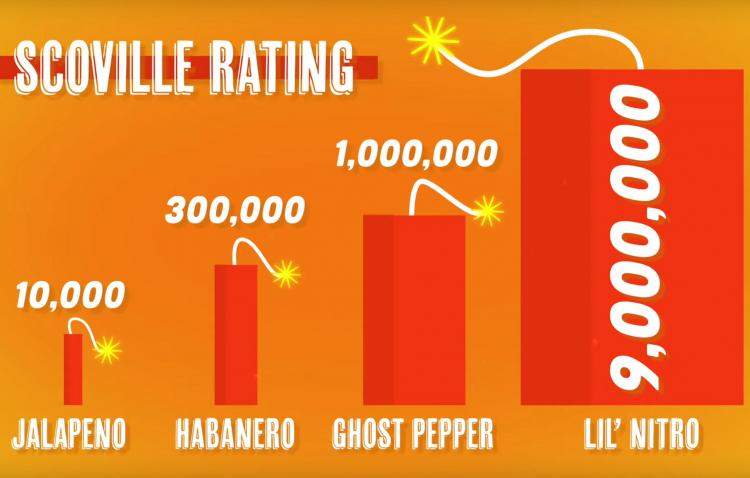 The Lil' Nitro Is The World's Hottest Gummy Bear, Is 900 Times Hotter Than  a Jalapeno