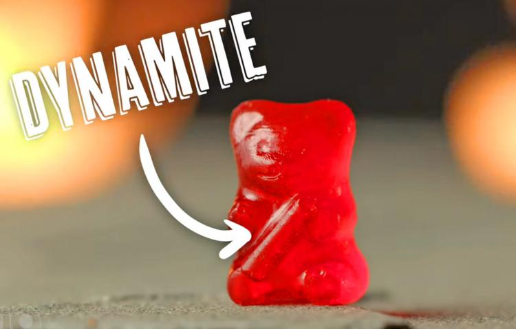 Lil' Nitro Is The World's Hottest Gummy Bear - spiciest candy gummy bear