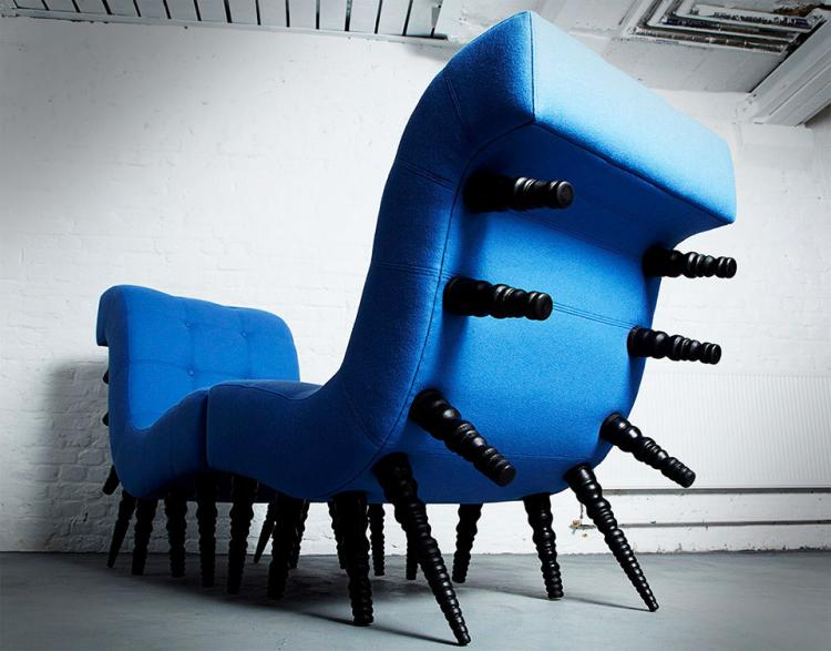 Milli Chair - Millipede Chair With Lots Of Legs