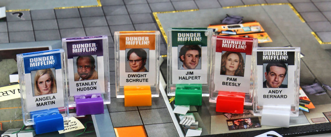 The Office Clue Board Game - Clue The Office Edition