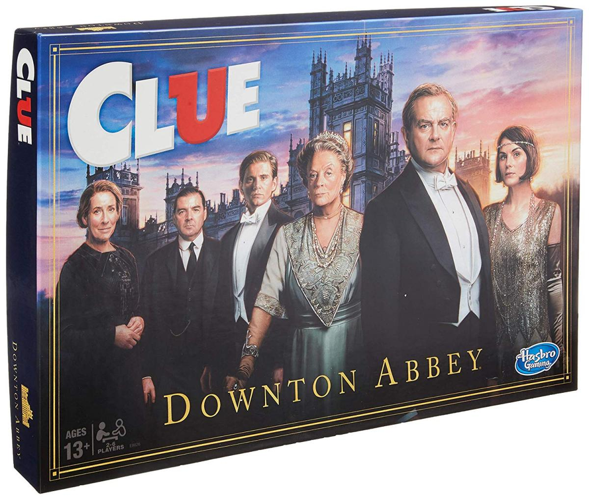 Downton Abbey Clue Board Game - Clue Downton Abbey Edition