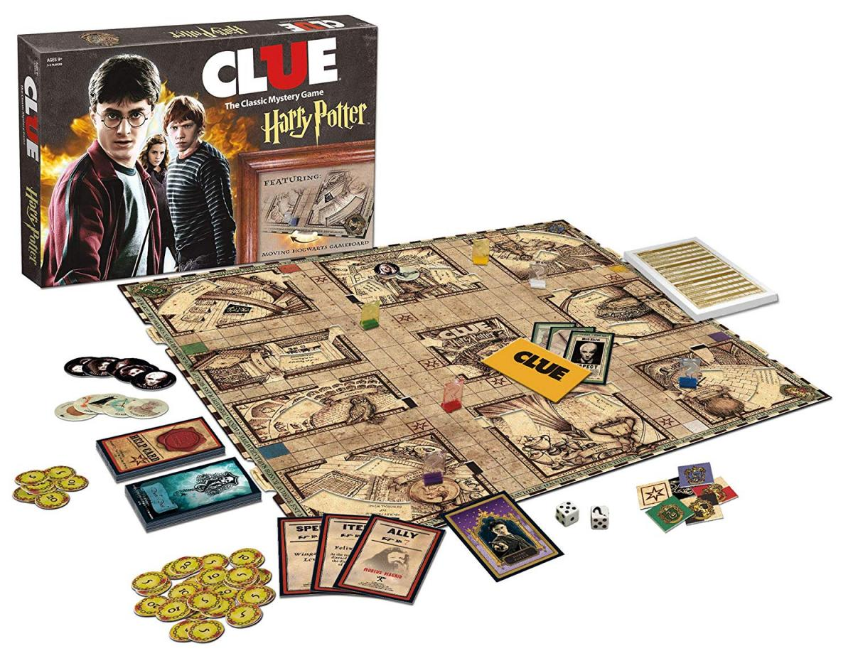 Harry Potter Clue Board Game - Clue Harry Potter Edition