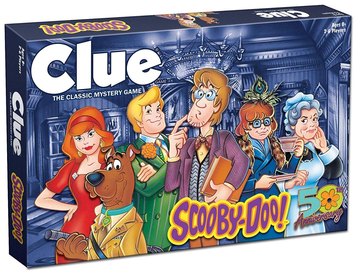 Scooby Doo Clue Board Game - Clue Scooby Doo Edition