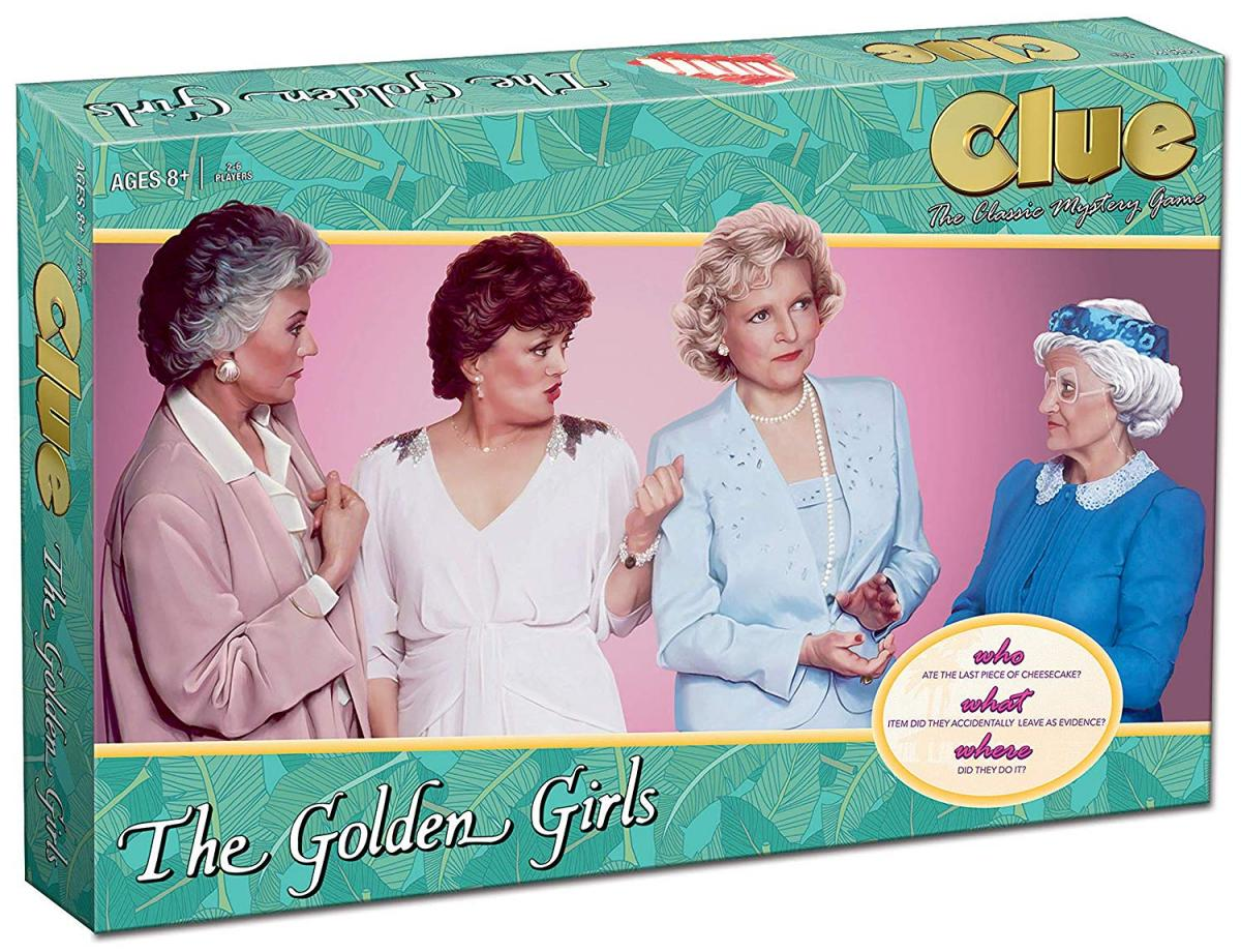 The Golden Girls Clue Board Game - Clue The Golden Girls Edition