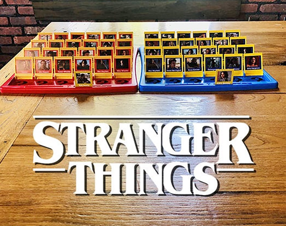 Stranger Things Guess Who Board Game