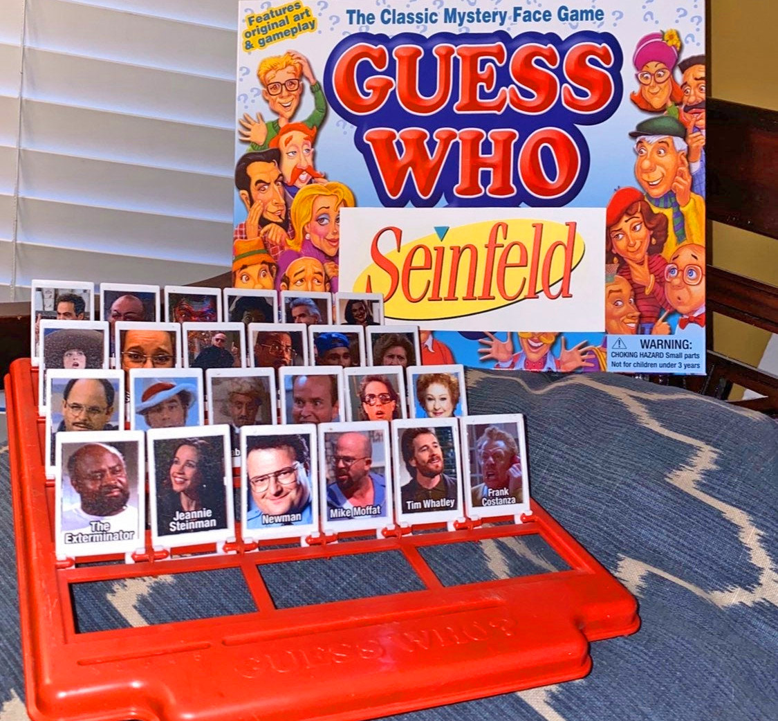 Seinfeld Guess Who Board Game