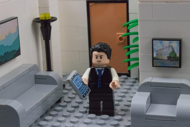 The Office LEGO Set