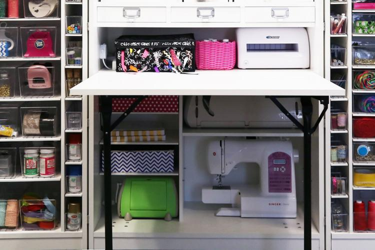 This Company Makes Incredible Fold Away Crafting Stations