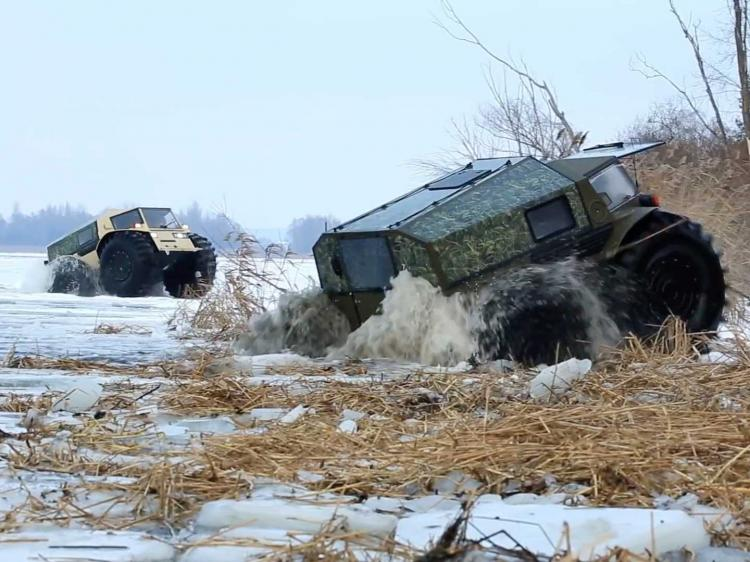 Sherp Russian Unstoppable ATV