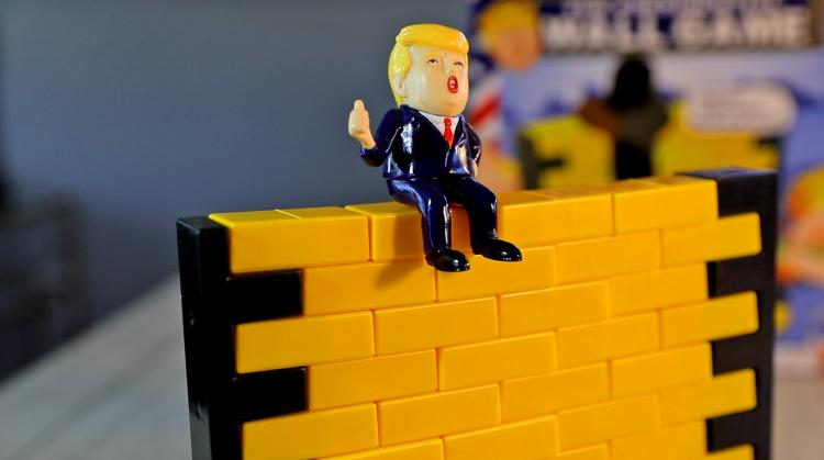 The Trump Presidential Wall Game - Trump Wall Game