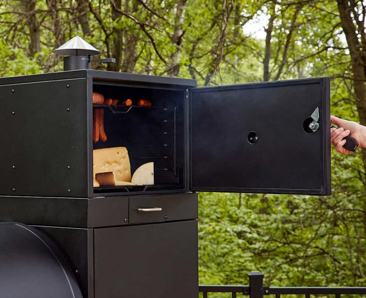 This Ultimate Grill Features 23.8 Square Feet Of Cooking Area - Louisiana Grills Champion Pellet Grill - Giant BBQ Smoker