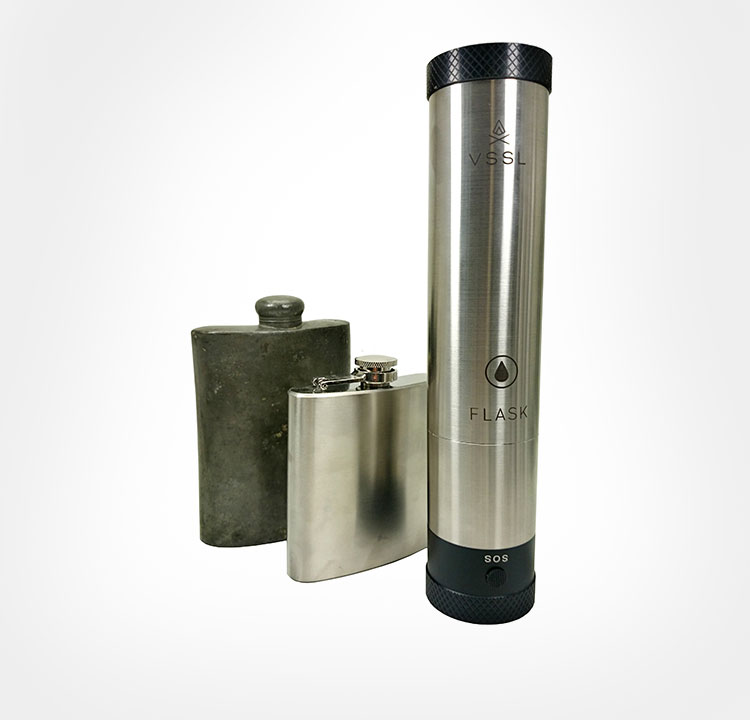 VSSL Survival Tools Packed Into Functional Cylinders